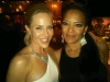 Julie Benz y Lauren Velez