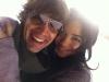 Christopher Gorham y Anel Lopez