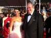 Angie Harmon y Ken Howard