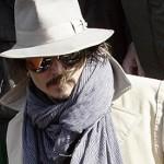 Cita veneciana de Johnny Depp y Angelina Jolie