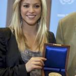 La ONU premia a Shakira por su trabajo a favor de los niños