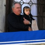 Los abuelos paternos también visitan a la familia Jolie-Pitt