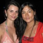 Magaly Solier se cree a la prensa y 'embaraza' a Penélope Cruz