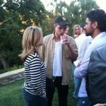 Robert Pattinson, de fiesta con otros actores