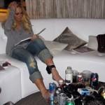 Lindsay Lohan convierte su caso judicial en un acto de solidaridad