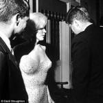 Subastan una imagen inédita de Marilyn Monroe y Kennedy