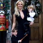 Britney Spears celebra el cumpleaños de sus hijos en Disney