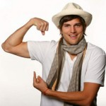 Ashton Kutcher, actor y ahora cantante, guitarrista y compositor