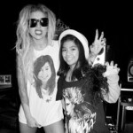 Lady Gaga, madrina de futuras promesas, llora en un concierto
